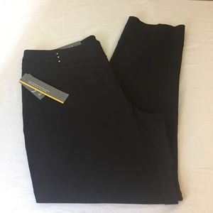 JM Collection Women's Black Dress Pants Career NWT
